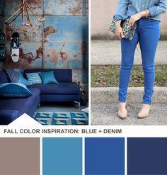 Tuesday Huesday: Denim Decor (http://blog.hgtv.com/design/2013/08/27/denim-blue-living-room-color-palette/?soc=pinterest)