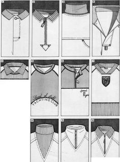 1 Four ideas for pockets centred over vertical seams. Stripe placket section.