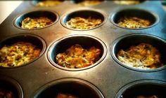 Savory Greek Style Zucchini and Feta Muffins with Greek Yogurt Dip Mediterranean Dishes, Mediterranean Diet Recipes, Squash Bread, Greek Yogurt Dips, Vegetarian Recipes, Snack Recipes, Greek Dishes, Foods To Eat, Greek Recipes
