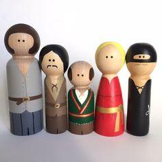The Princess Bride Inspired Peg Dolls - Peg Toys - Peg Dolls - Wooden Pegs by ThePaintedPeg on Etsy https://www.etsy.com/listing/235990987/the-princess-bride-inspired-peg-dolls