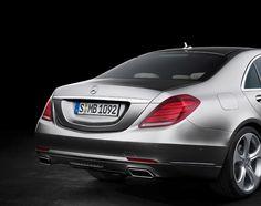 2014-Mercedes-Benz-S550-Rear-Three-Quarters-View