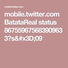 mobile.twitter.com BatataReal status 867559675683909633?s=09