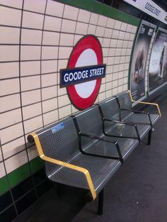 Goodge Street Underground Station