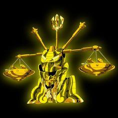 armadura de oro de libra