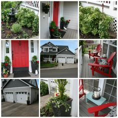 curb appeal spring- my own home. Lowe's Creator project