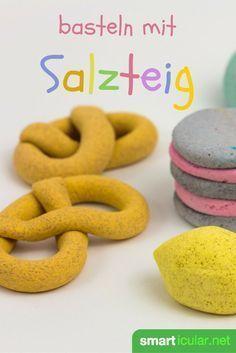 Salzteig einfach selber machen und unendliche Bastelkreativität freisetzen