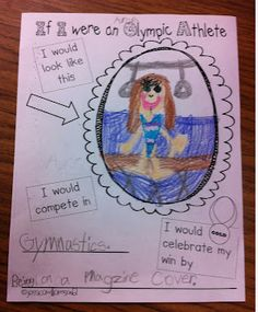 Olympic worksheet - Possible Show & Tell topic for February
