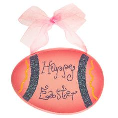 Wind up swimming chick easter couponcodes gifts crafts easter pink happy easter egg wood ornament easter couponcodes gifts crafts negle Gallery