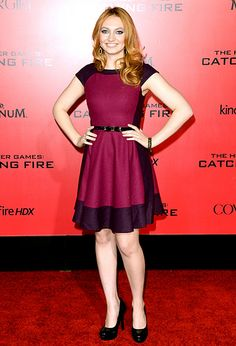 Jacqueline Emerson at the Catching Fire premiere!!