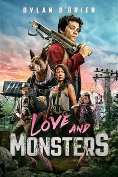 Family Movie Night! Love and Monsters 2020 Movies, All Movies, Latest Movies, Movies Online, Michael Rooker, Dylan O'brien, Family Movie Night, Family Movies, Dylan O Brien Movies