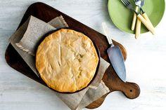 Northern Greek mushroom and onion pie