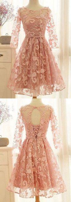 Short Homecoming dresses,lace homecoming dresses,Short prom dresses