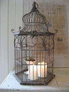 Vintage cages, just a beautiful home decor!por Depósito Santa Mariah