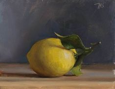 daily painting titled Lemon