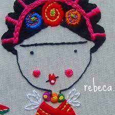 Imagen relacionada Winter Hats, Embroidery, Colouring In, Stuff Stuff, Embroidered Cushions, Fabrics, Creativity, Dots, Needlepoint
