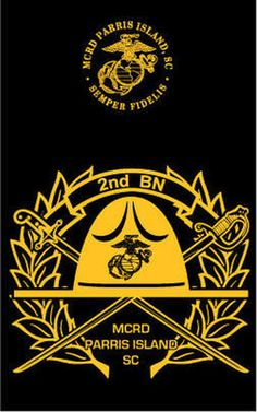 Parris Island Recruit Battalion T-shirt Marine Corps Humor, Us Marine Corps, Marine Life, Special Ops, Special Forces, Mcrd San Diego, Camp Logo, Patriotic Images, Parris Island
