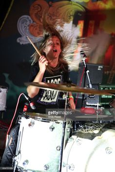 Samantha Ambrosio of Cardiel performs onstage at the Sounds from Venezuela music showcase during 2017 SXSW Conference and Festivals at Speakeasy on March 17, 2017 in Austin, Texas.