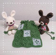 モチーフつなぎの巾着  #あみもの#あみぐるみ#アミグルミ #かぎ針編み#手編み#ハンドメイド #花モチーフ#モチーフつなぎ #レース編み#巾着#ポーチ#バッグ #兎#うさぎ#ウサギ#バニー #knitting#crochet#crochetaddict  #handmade#handmadewithlove  #amigurumi#amigurumis#motif #flowermotif#rase#kinchaku#bag #pouch#rabbit by ohamuhamu