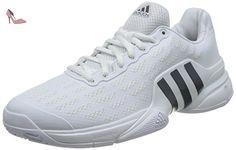 adidas Barricade 2016, Chaussures de Tennis Homme, Blanc Cassé-Blanco (Blanco (Ftwbla/Maruni/Kusifo)), 42 EU