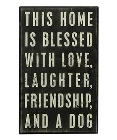 LAUGHTER, FRIENDSHIP, AND A DOG