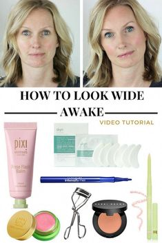 MAKEUP TIPS TO LOOK MORE AWAKE | MAKEUP FOR TIRED EYES | MAKEUP FOR DARK CIRCLES | MAKEUP FOR TIRED MOMS | HOW TO LOOK AWAKE IN THE MORNING | HOW TO LOOK AWAKE WITH NO SLEEP | #tiredeyes #awakemakeup #howtolookawake #howtolooklesstired #EyelinerTricks