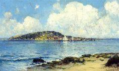 Coastal Scene - Robert Julian Onderdonk