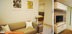 Apartamento decorado 2 dormitórios no Parque Porto Alexandria - Sapucaia do Sul - RS - MRV Engenharia - Sala de TV