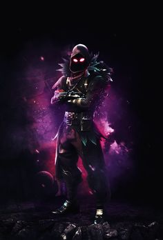 Resultado de imagen para fortnite raven wallpaper