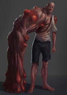 Mutant, Nicola Angius on ArtStation at https://www.artstation.com/artwork/lDxAe