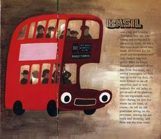 """The Bus That Went to Church"" by Jill Tomlinson.  Illustrated by Alan Howard.    Shit. My bus is a @#$!@$!#5 atheist. I hate my bus."