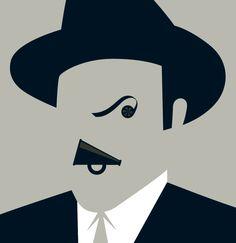Noma Bar - Citizen Kane