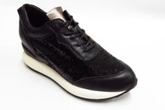 Leather sequins leisure trend for women's shoes