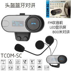 53.19$  Watch now - http://ali26e.shopchina.info/go.php?t=32346509068 - 1000m Motorcycle Bluetooth Intercom LCD Screen BT Bluetooth Interphone Helmet Headset Freedconn TOM-SC 53.19$ #magazine