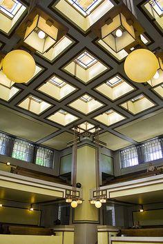 Frank Lloyd Wright - Unity Temple