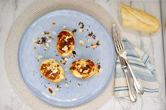 Pain perdu aux amandes Sans Gluten, C'est Bon, Pancakes, Breakfast, Food, Sliced Almonds, French Toast, Morning Coffee, Meal