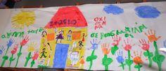 Πάμε Νηπιαγωγείο: Λέμε stop στη βία! Logos, Bullying, Logo, Bullying Activities, Legos