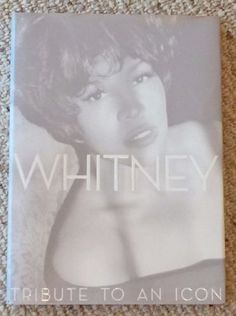 """Hardcover, first edition book, $39.99 MSRP;  (1) """"Whitney; Tribute to an Icon,"""" Copyright 2012, ISBN: 978-1-4767-1124-9. With dust jacket, 191 pages, heavy book ~ 4lbs approximately, 10""""x 14""""x 1"""" approximately.  Stunningly gorgeous collection of photos, as taken throughout her career. Brand new condition, with no marks, tears, ghosting/edging, or stains. A must have for any fan!   Makes an incredible coffee table book."""
