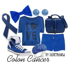 """""""Colon Cancer"""" by lalakay on Polyvore"""