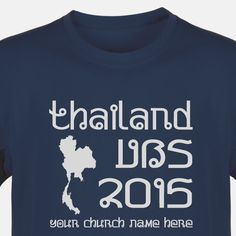 Camp VBS Shirt for Camp Discovery VBS - Custom VBS T-Shirt (Available in 40+ Shirt Colors) #ThailandTrekVBS #VBSTShirt #VBS