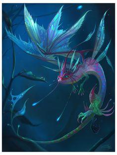 Faerie Dragon by *Carolina-Eade