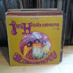 Lot of 25 Classic Rock albums_60's/70's/80's_Vinyl Record LP_Jimi Hendrix