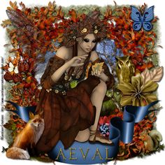 Aeval's Art: CT Tutorial for Autumnal Fae and Falls Grace