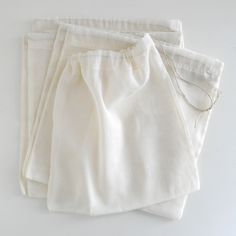 Organic cotton product bag (also could be used for bulk dry items @ co-op!)