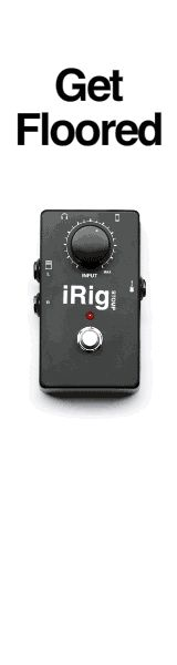 iRig STOMP - Stompbox Guitar Interface for iPhone, iPod touch & iPad