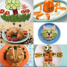 Fun kids lunch ideas
