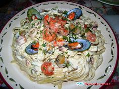 i am the cook!: Seafood Pasta in Creamy White Sauce