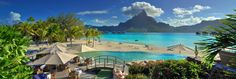Le Meridien Bora Bora – The Overwater Bungalows Deliver a Gorgeous View of the Iconic Mount Otemanu | http://www.designrulz.com/design/2014/09/le-meridien-bora-bora-overwater-bungalows-deliver-gorgeous-view-iconic-mount-otemanu/