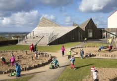 Timber kindergarten sports a zigzag roofline to mirror the Swedish dune landscape | Inhabitat - Green Design, Innovation, Architecture, Green Building
