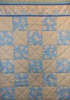 Quorn Country Crafts easy quilt pattern