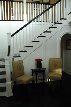 staircase is gonna look like this when im done :)